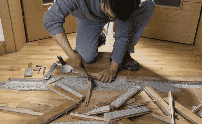 repair hardwood floor