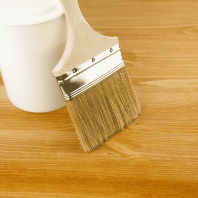 stain hardwood floor